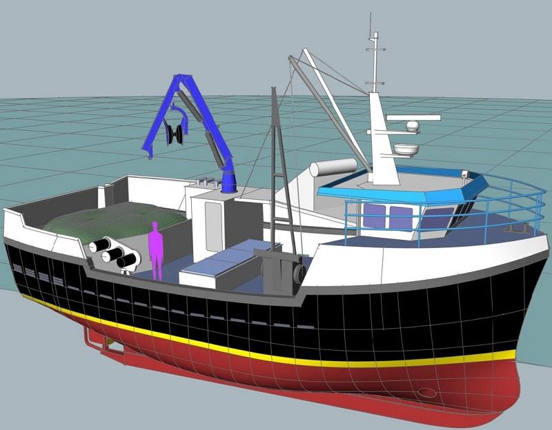 15m Boat Design. Boat_project. 15m Fishing Boat Build