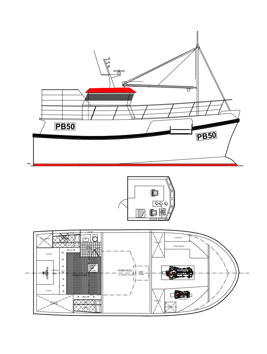 Build a new GRP commercial fishing boat